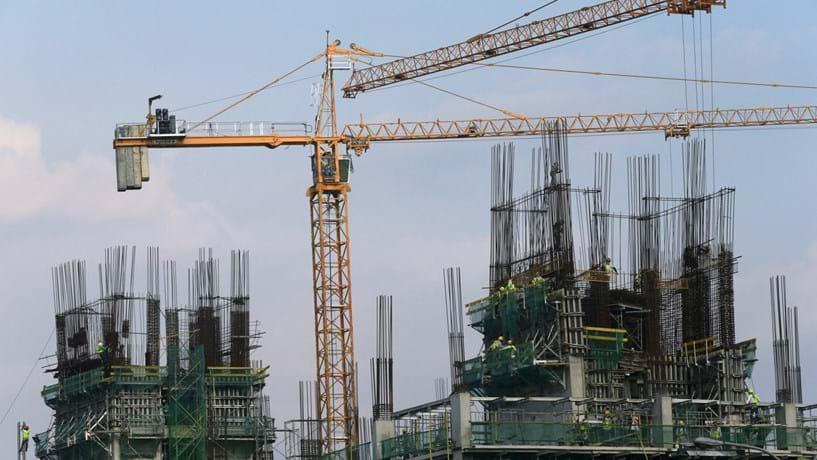 Produção na construção aumenta 3% em janeiro