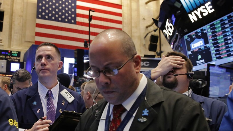 Rendimentos dos Treasuries sobem e Wall Street perde