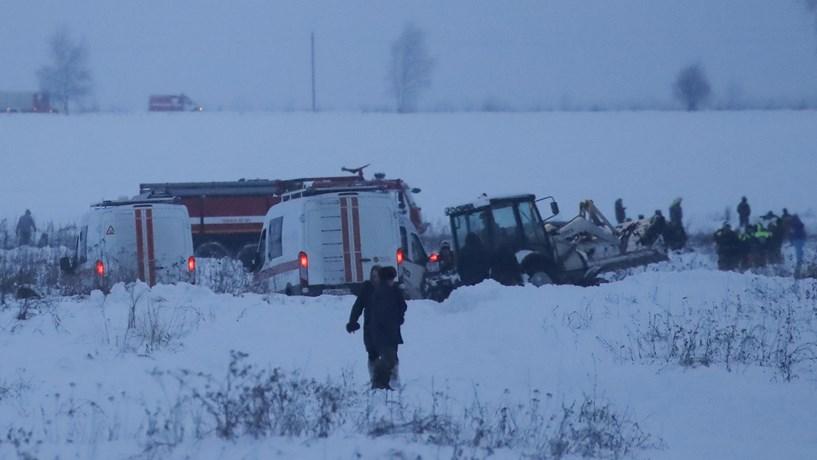 Todos os 71 ocupantes de avião que caiu na Rússia morreram