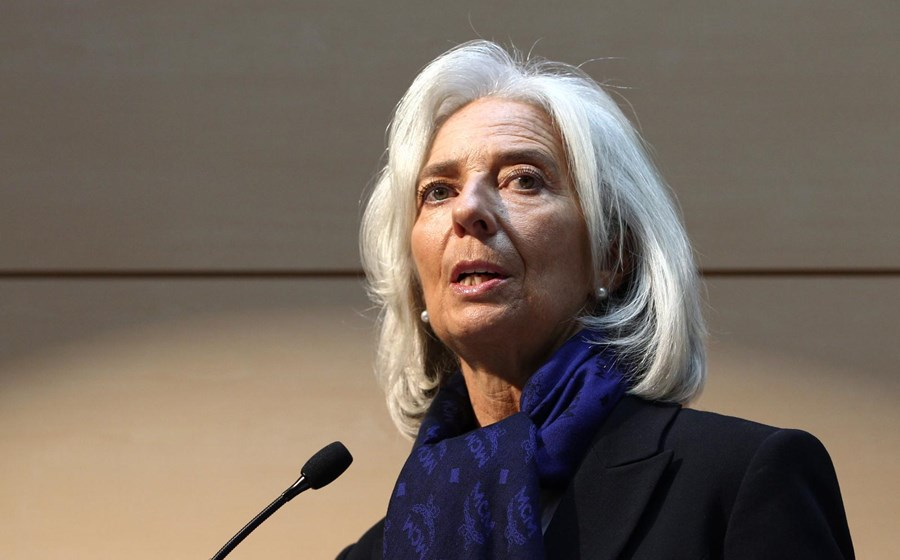 5 – Christine Lagarde, directora do Fundo Monetário Internacional