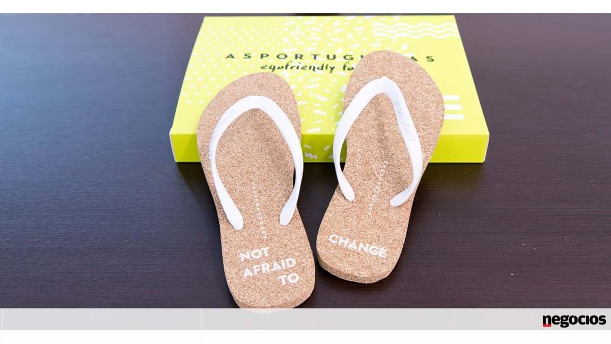 Maior produtor de calçado estreia se nos chinelos de cortiça