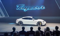 Porsche Taycan turbo S electric
